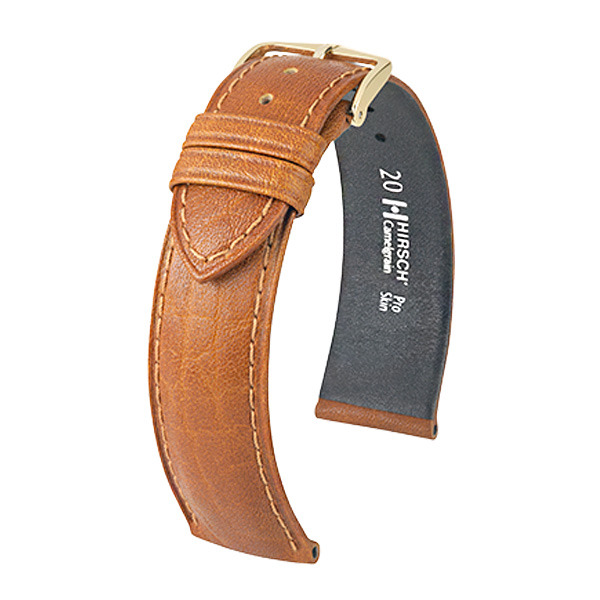 Hirsch Camelgrain 9mm Medium Honung/Guld 01009110-1-09