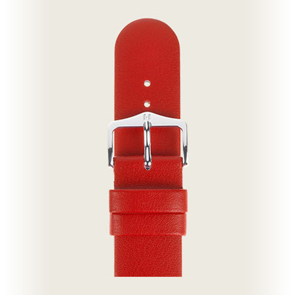 Hirsch Scandic 20mm Medium Röd/Silver 17852020-2-20