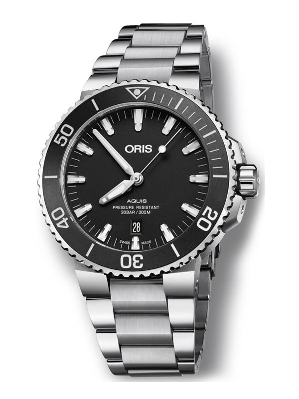 ORIS Aquis Date 39.5mm 733-7732-4134-07-8-21-05PEB