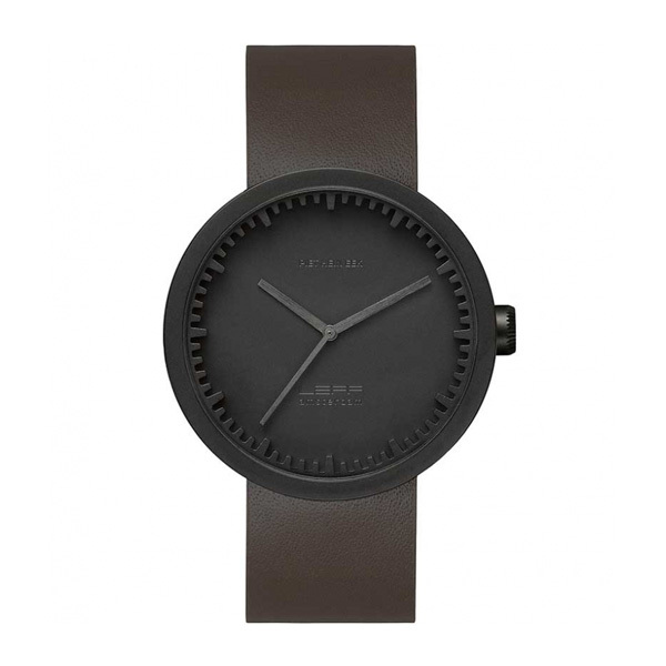Leff Amsterdam Tube Watch D42 Black LT72012