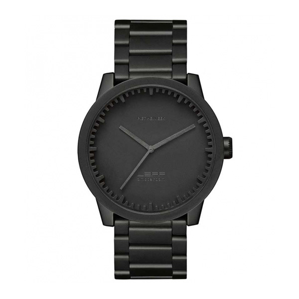 Leff Amsterdam Tube Watch S42 Black LT72102