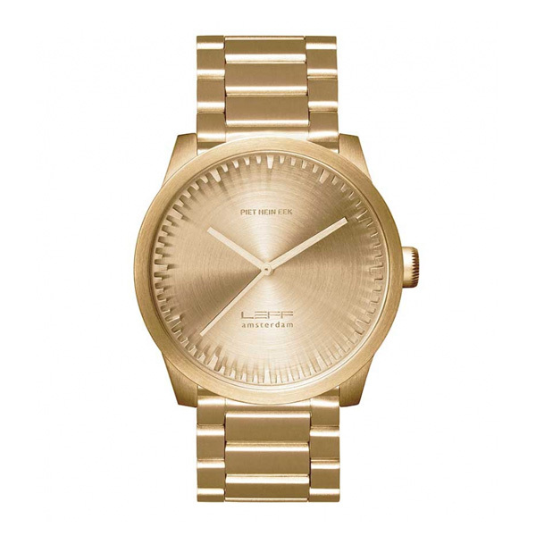Leff Amsterdam Tube Watch S42 Brass LT72103