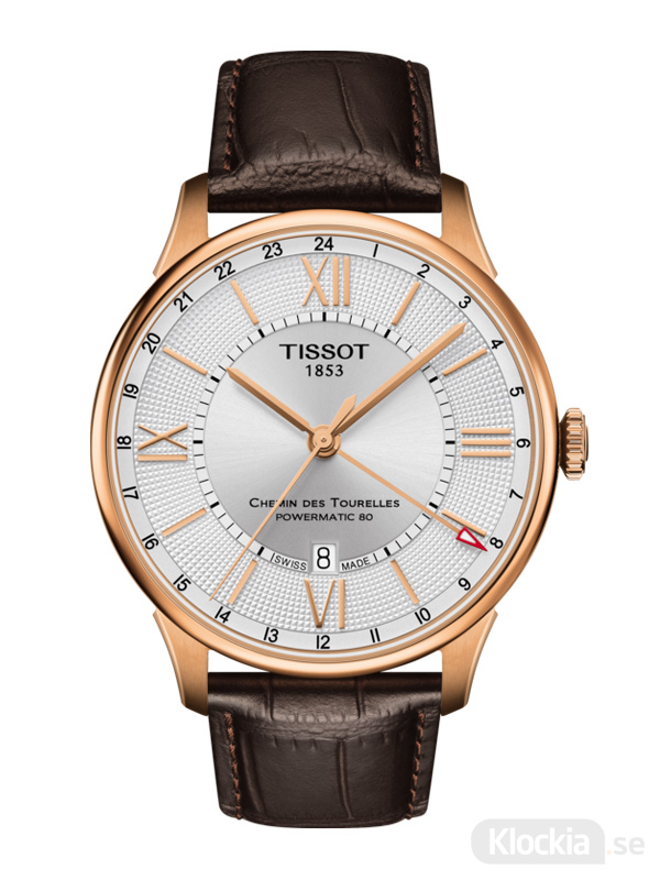 TISSOT Chemin Des Tourelles Powermatic 80 GMT T099.429.36.038.00