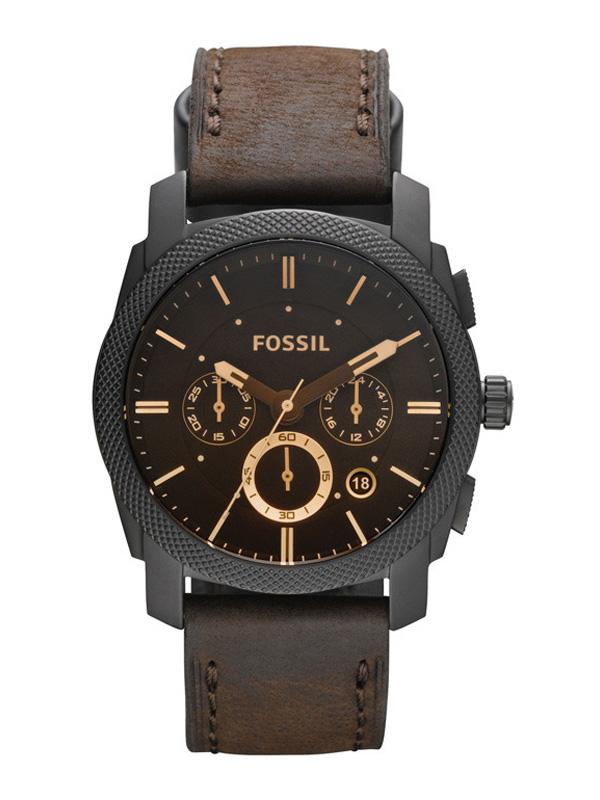 Fossil Machine FS4656 - Herrklocka