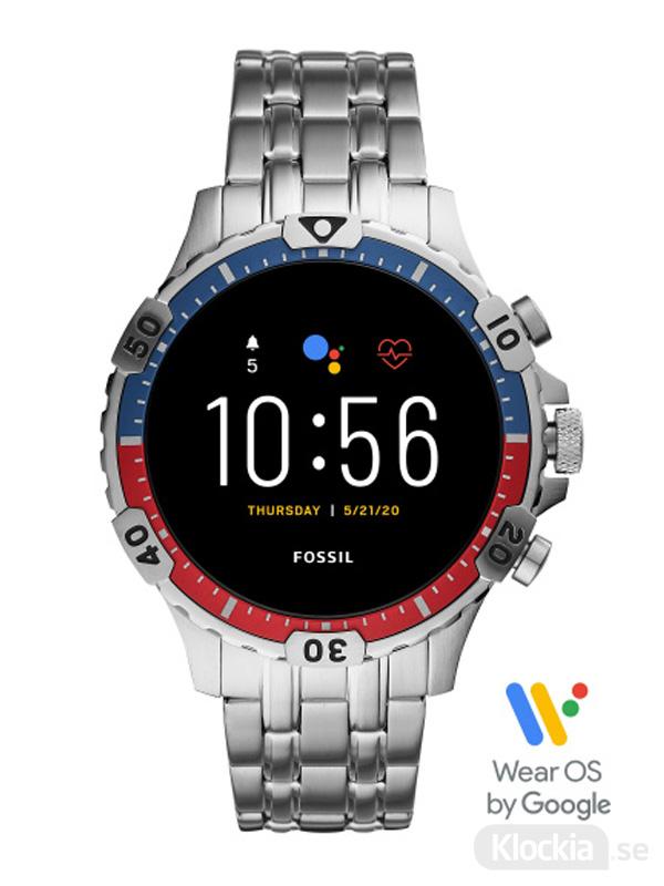 Herrklocka FOSSIL Smartwatch Gen 5 Garret FTW4040
