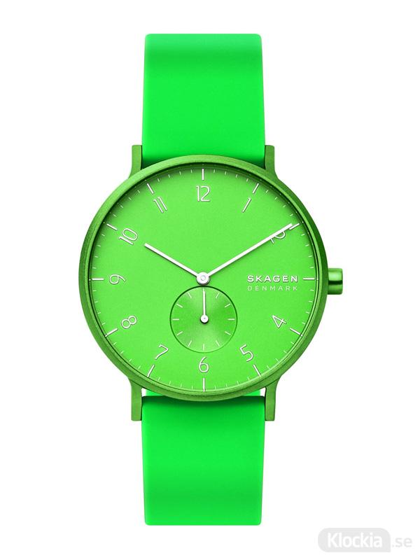 SKAGEN Aaren Kulor Neon Green 41mm SKW6556