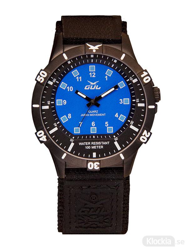 GUL No. One IPB Blue Velcro 535216203 - Herrklocka