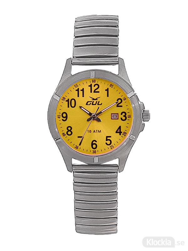 GUL Surf Flex Yellow 525021004 - Barnklocka