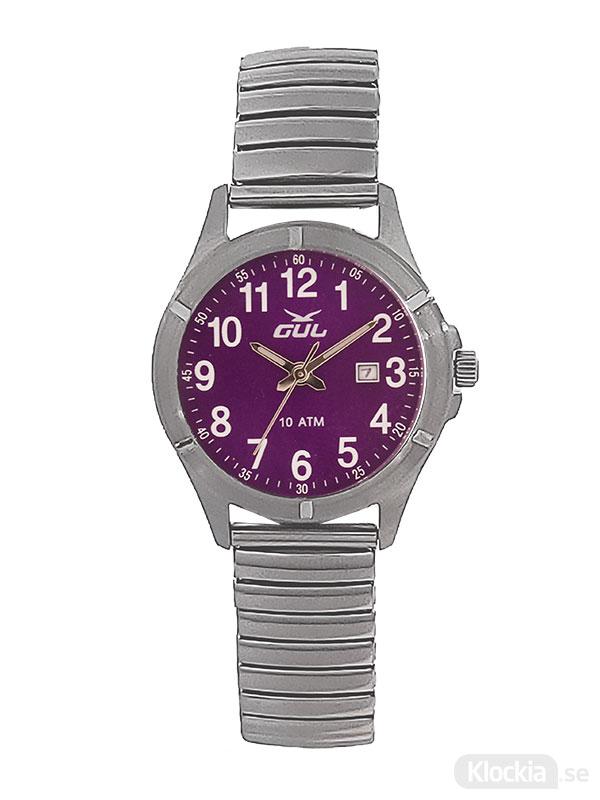 GUL Surf Flex Purple 525021006 - Barnklocka
