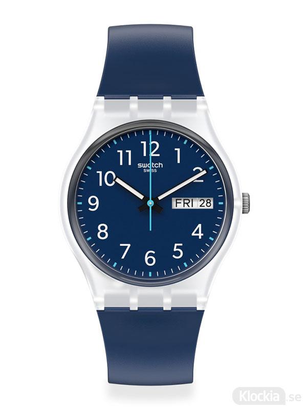 Swatch rinse repeat navy ge725 damklocka