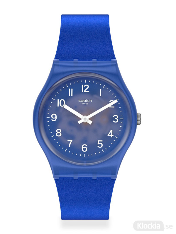 Damklocka SWATCH Blurry Blue GL124
