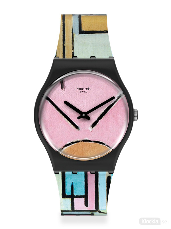 SWATCH MoMa Composition In Oval With Color Planes 1 GZ350