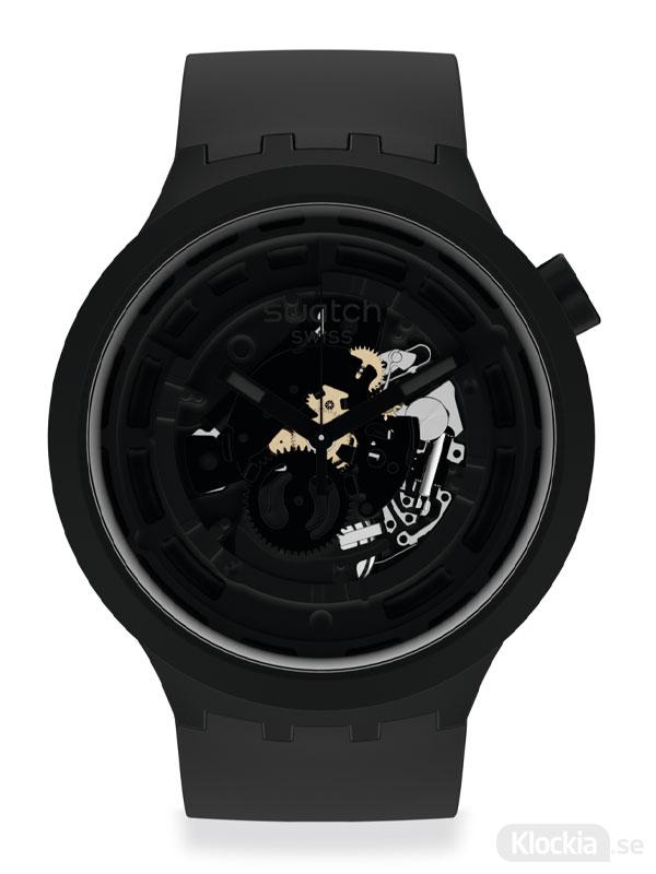 SWATCH Big Bold C-Black SB03B100 - Klocka