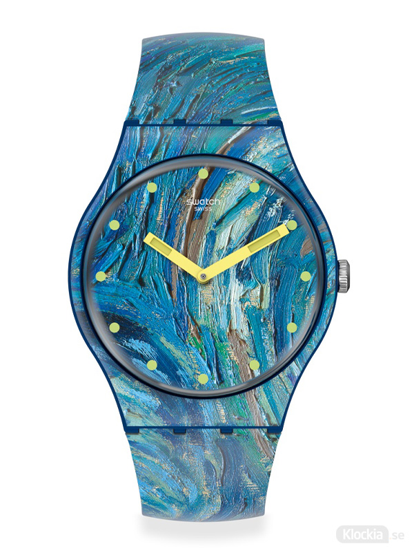 SWATCH MoMa The Starry Night by Vincet Van Gogh SUOZ335