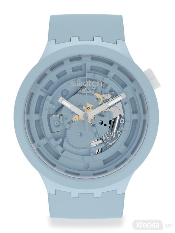 SWATCH Big Bold C-Blue SB03N100 Klocka