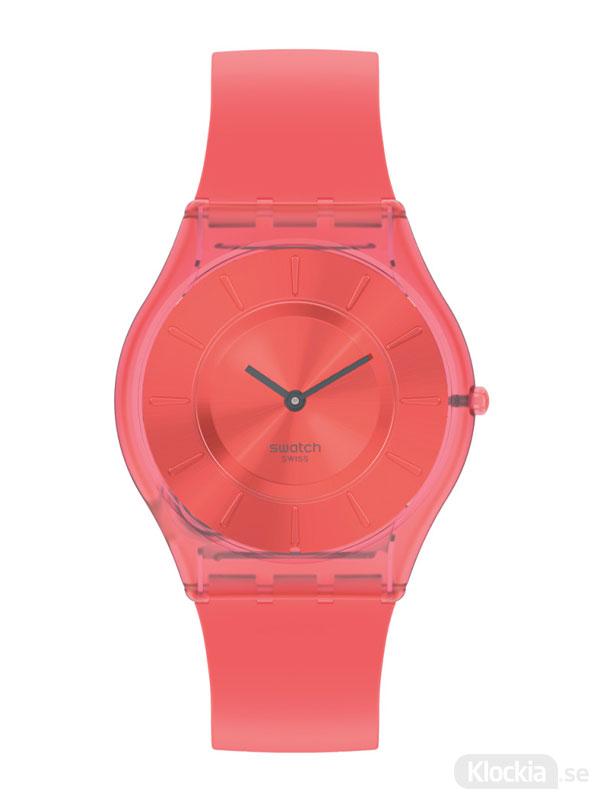 Swatch sweet coral ss08r100 - damklocka