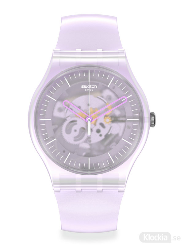 Swatch pink mist suok155 - damklocka
