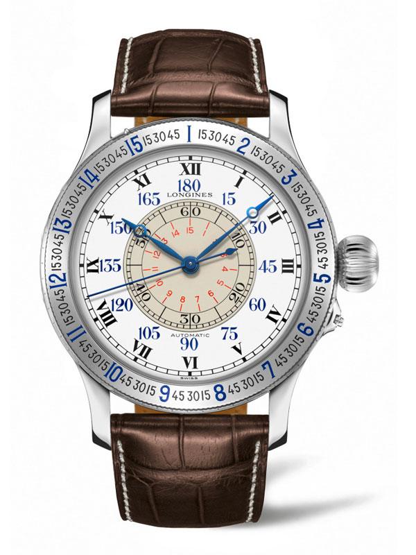 Longines Heritage Avigation, Lindbergh Hour Angle Watch L2.678.4.11.0