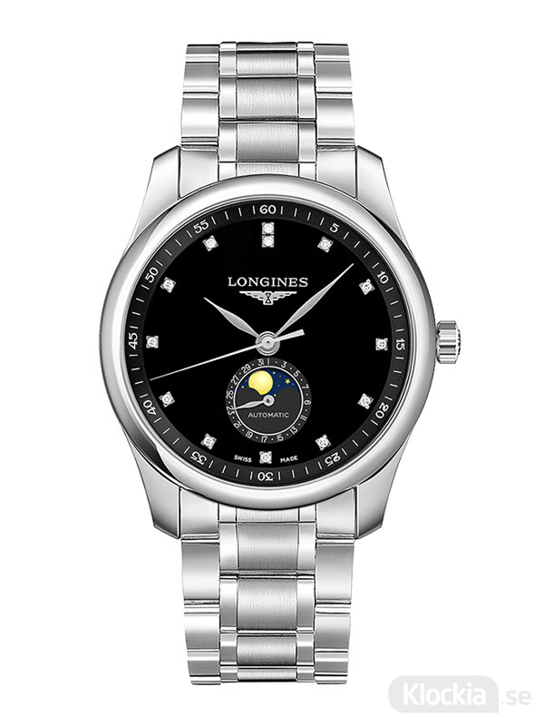 LONGINES Master Collection Moon Phase Diamonds 40mm L2.909.4.57.6