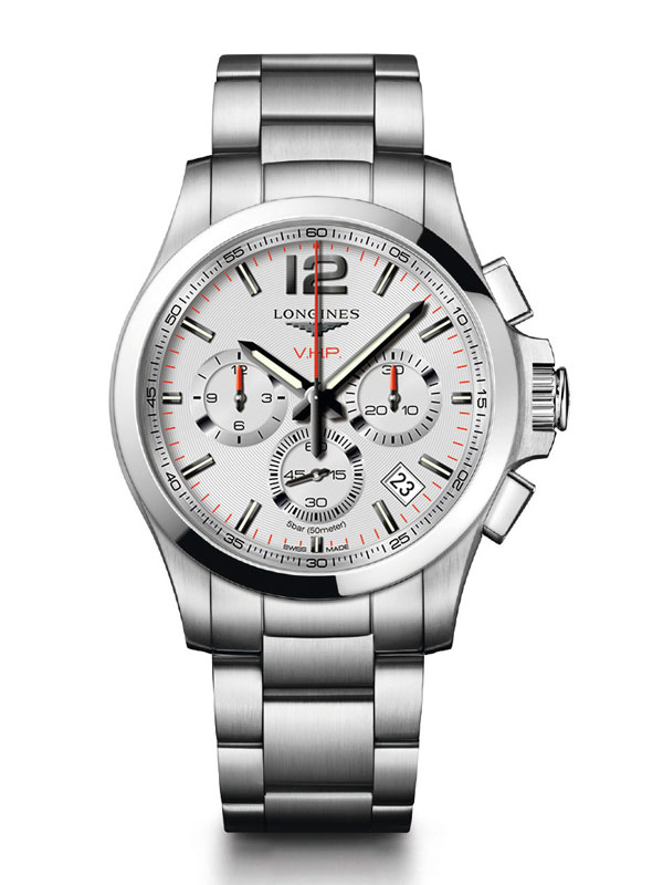 Longines Conquest V.H.P. Chronograph 42mm L3.717.4.76.6