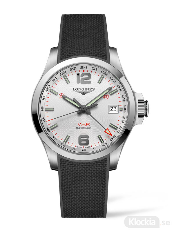 LONGINES Conquest V.H.P. GMT 41mm L3.718.4.76.9