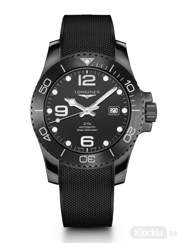 LONGINES HydroConquest All Black Ceramic 43mm L3.784.4.56.9