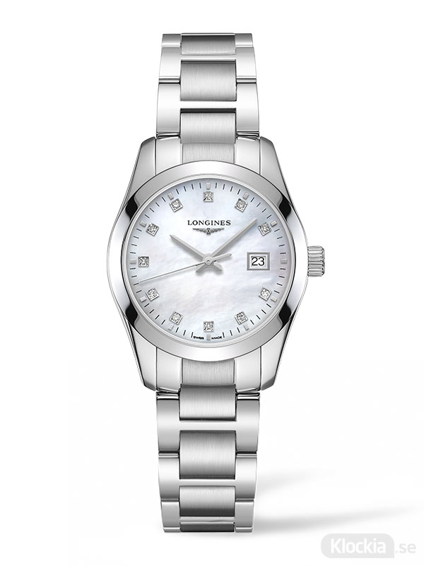 LONGINES Conquest Classic Diamonds 29.5mm L2.286.4.87.6 - Damklocka