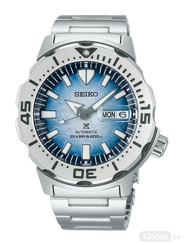 SEIKO Prospex Automatic Diver 42mm Save The Ocean Antarctica Monster SRPG57K1