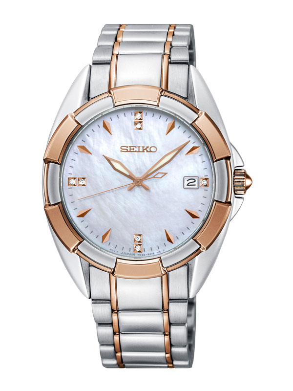 SEIKO Ladies 33mm Diamonds SKK888P1