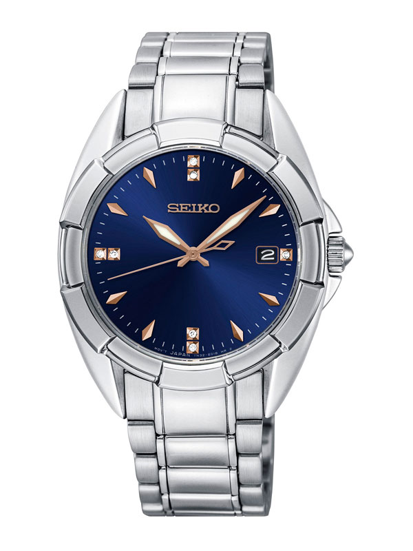 SEIKO Ladies 33mm Diamonds SKK889P1