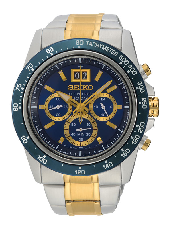 SEIKO Gents Lord Chronograph 46mm SPC239P1