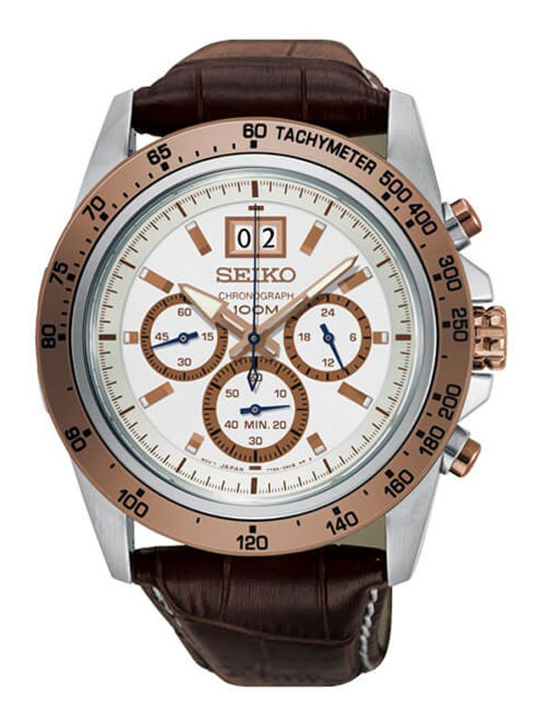 SEIKO Gent Lord Chronograph 46mm SPC246P1