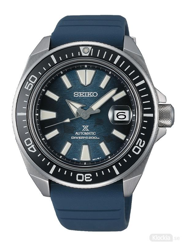 "SEIKO Prospex Automatic Diver 44mm King Turtle - Save The Ocean ""Dark"" Manta Ray Edition SRPF79K1"