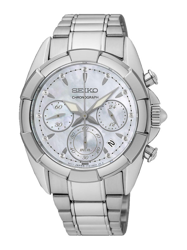 Seiko Ladies Chronograph 36mm SRW807P1