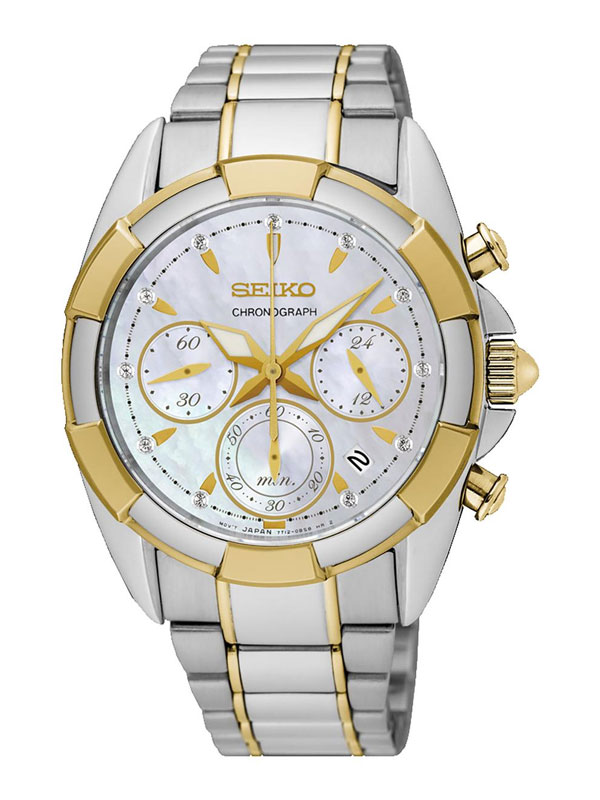 Seiko Ladies Chronograph 36mm SRW808P1