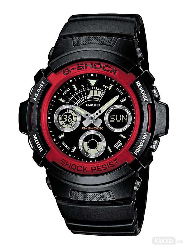 Herrklocka CASIO G-Shock Basic AW591-4AER