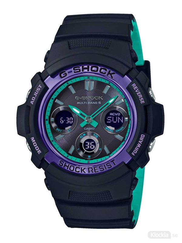 Herrklocka CASIO G-Shock Basic AWG-M100SBL-1AER