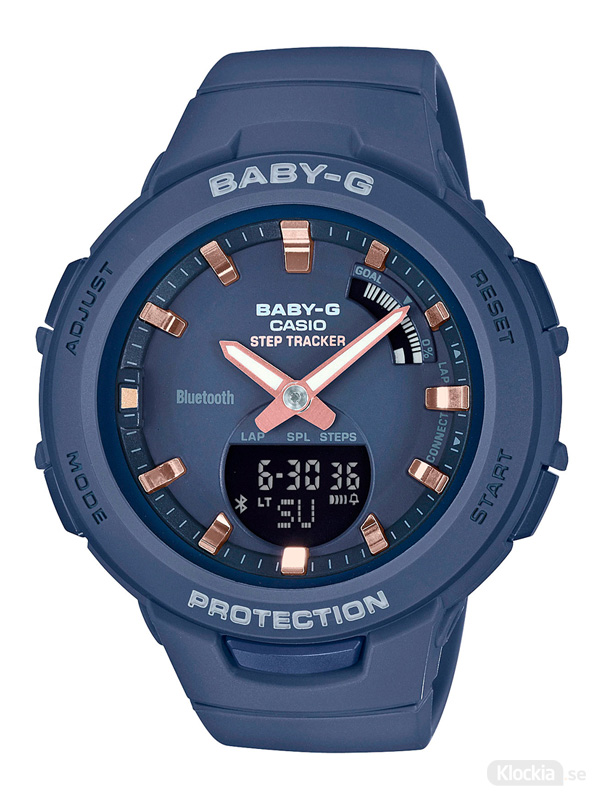 Damklocka CASIO Baby-G BSA-B100-2AER