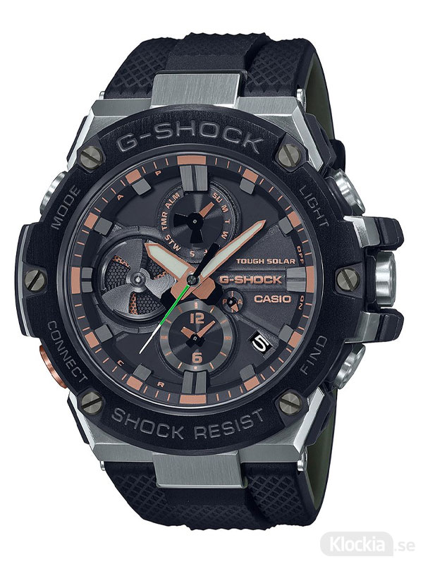 CASIO G-Shock G-Steel Bluetooth GST-B100GA-1AER