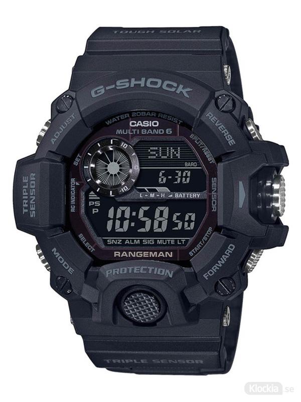 Herrklocka CASIO G-Shock Rangeman GW-9400-1BER