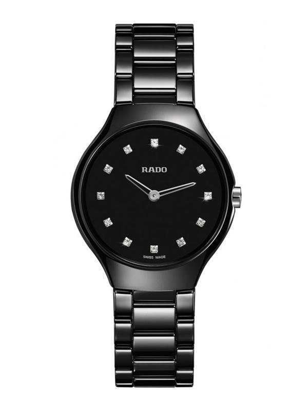 Rado True Thinline Black R27742732