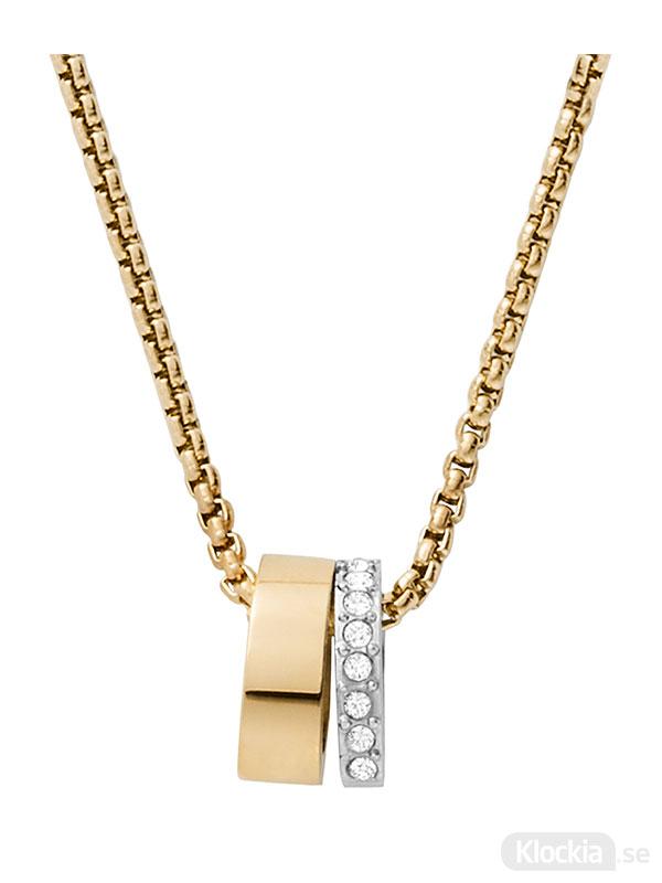 Skagen halsband elin - guld skj1450998 - damsmycke