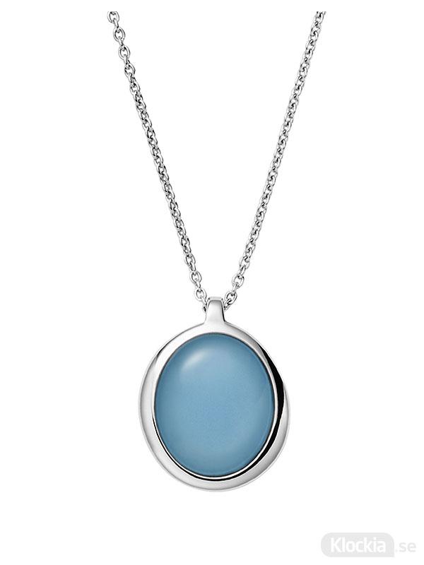 Skagen halsband sea glass - silver skj1463040 - damsmycke