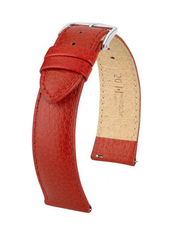 Hirsch Kansas 20mm Large Röd/Silver 01502020-2-20