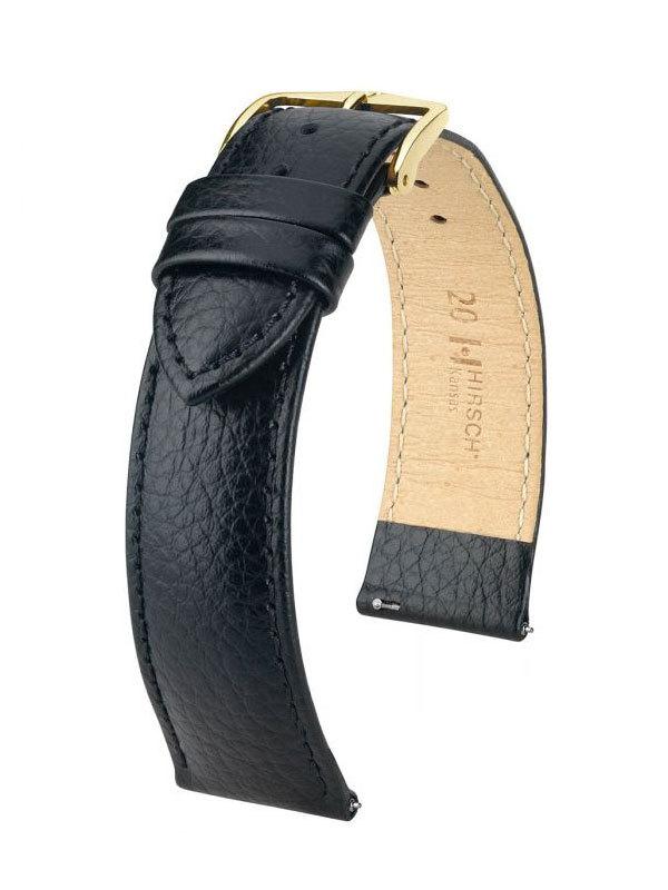 Hirsch Kansas 14mm Medium Svart/Guld 01502150-1-14