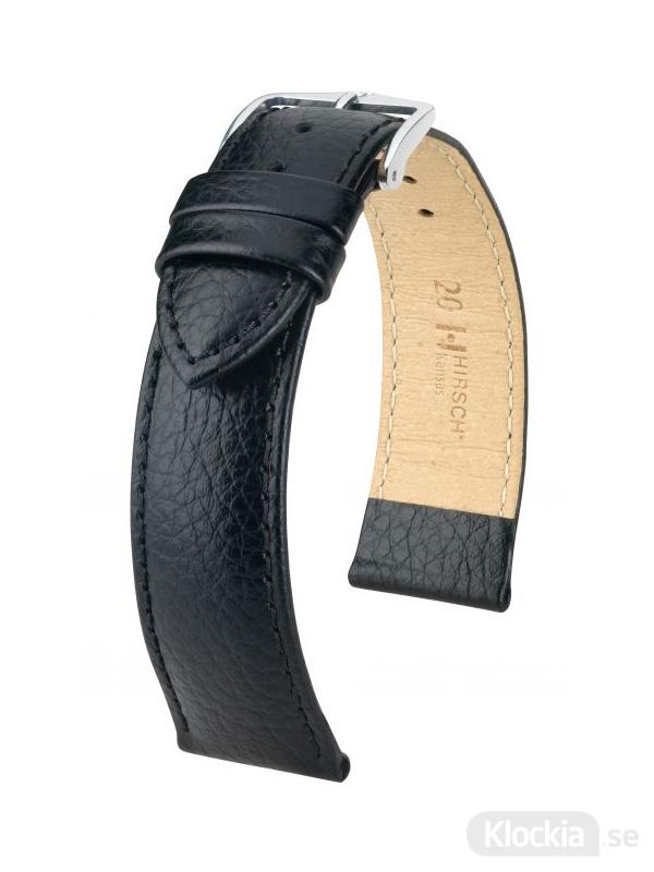 Hirsch Kansas 18mm Large Svart/Silver 01502050-2-18