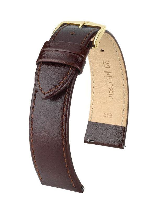 Hirsch Osiris 18mm Medium Brun/Guld 03475110-1-18