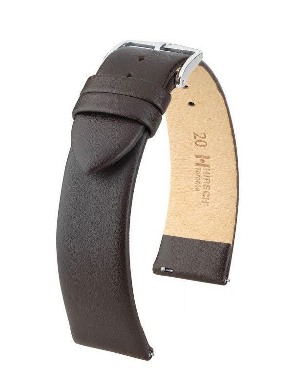 Klockarmband Hirsch Toronto 14mm Large Brun/Silver 03702010-2-14