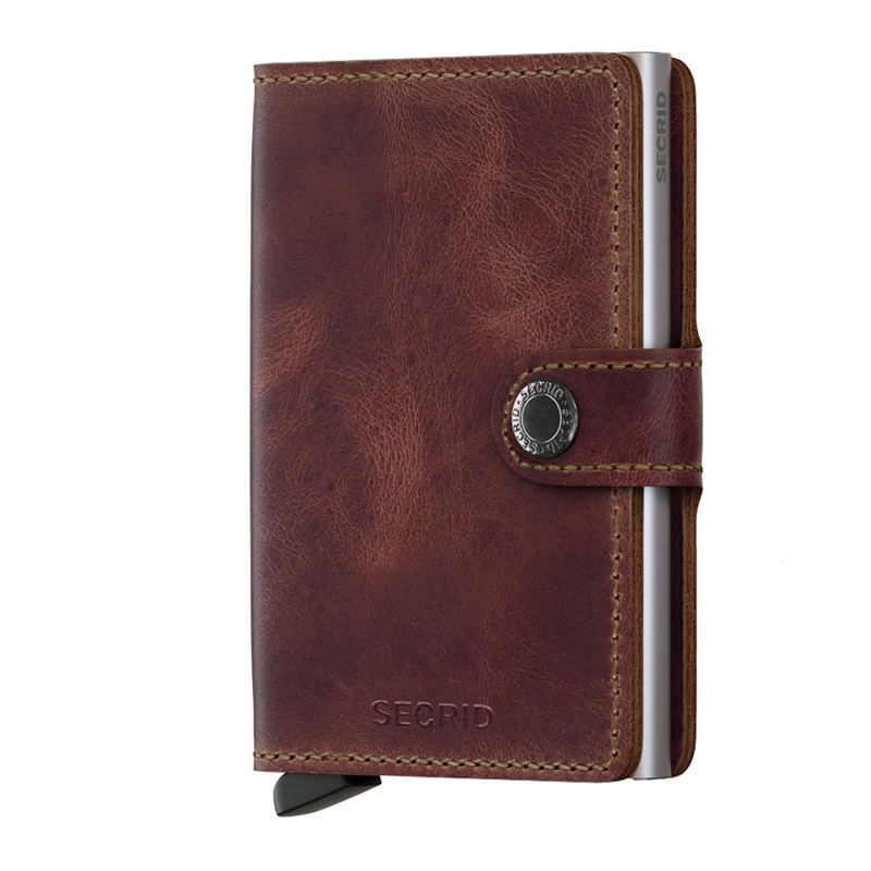 Secrid Miniwallet Vintage Brown MV-brown