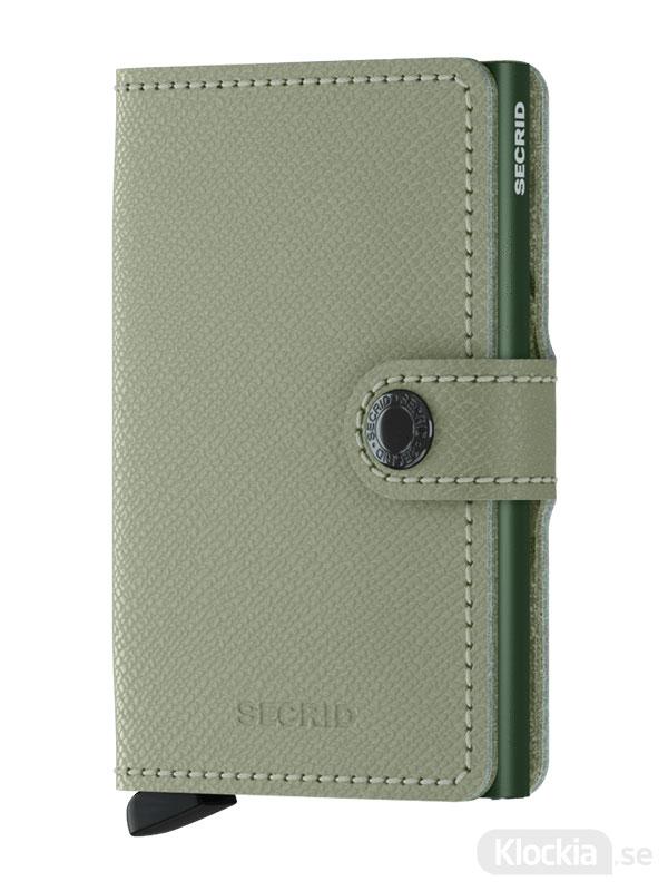 Plånbok SECRID Miniwallet Crisple Pistachio